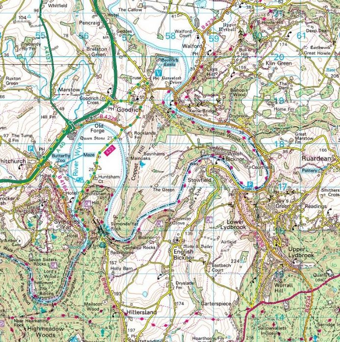 Very Large Ordnance Survey MuralMap - Bespoke